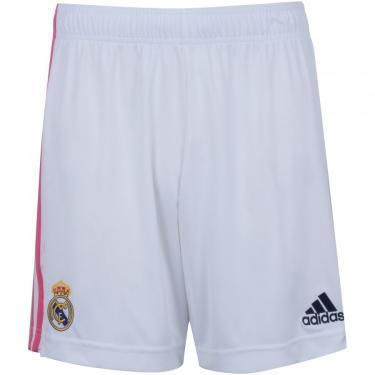 Calção Real Madrid I 20/21 adidas - Masculino adidas Masculino
