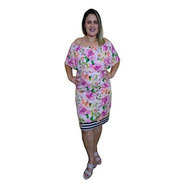 Vestido Cigana Floral - marca Talento Moda - P, M, G, GG