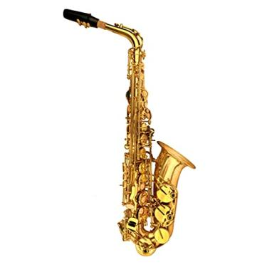Imagem de Saxofone Halk Stronger Sax Alto Mib Profissional Laqueado