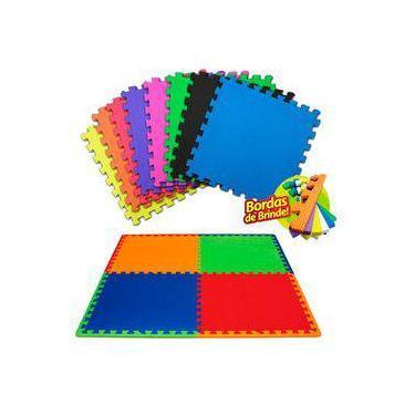 c43349243a5 Kit 10 peças tatame 50 x 50 x 10mm-tapete infantil colorido