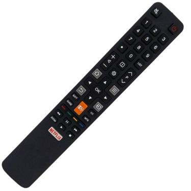 Controle Remoto Tv Led 4k TCL Semp Toshiba com Teclas Netflix Globo Play