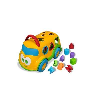 Carrinho Escolar Baby Land Dino Cardoso Toys 3028 COR: ROSA