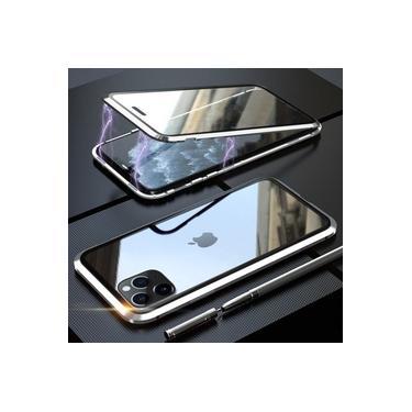 Capa Case Magnética Blindada Apple iPhone 11 Pro - Prata
