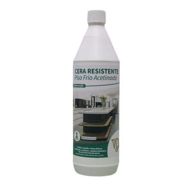 Cera Resistente Acetinada Piso Frio 1 Litro