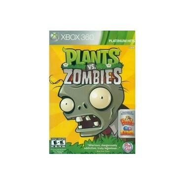 Game Plants Vs Zombies Xbox 360 Platinum Hits Bonus Peaggle Zuma