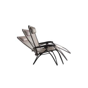 Cadeira Reclinável Sevilha 21 Posições Marrom Piscina Praia - Mor