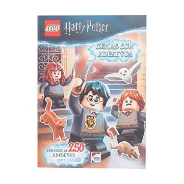 Lego Harry Potter: Cenas com adesivos - Lego - 9788595033986