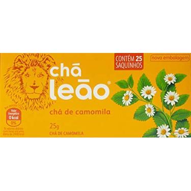 Chá de Camomila Leão Fuze com 25 Saquinhos