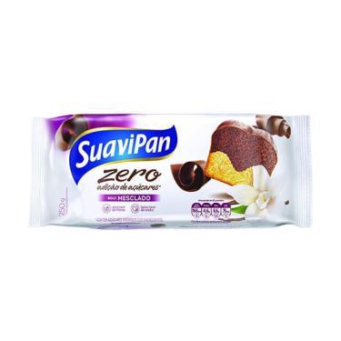 Bolo Mesclado sem Açúcar 250g - Suavipan