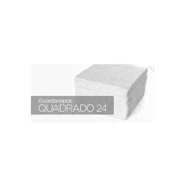 Guardanapos Brancos Scala Papéis Quadrado 24x23 Folha Dupla - Cx 3000 Fls
