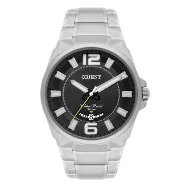 a119dc8702a Relógio Masculino Orient Casual MBSS1334 P2SX - Prata