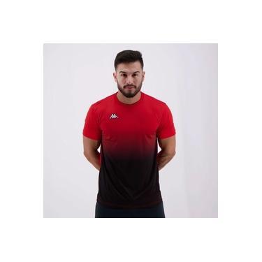 Camisa Kappa Clair Vermelha