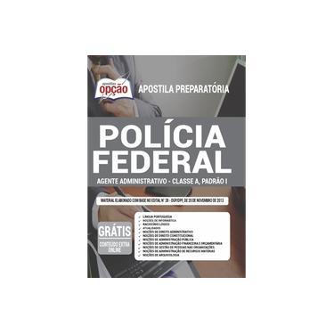 Imagem de Apostila Polícia Federal (PF) Agente Administrativo Classe A