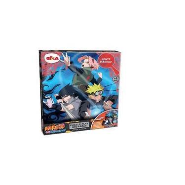 Imagem de Puzzle Play 100 Peças Lente Mágica Naruto Elka