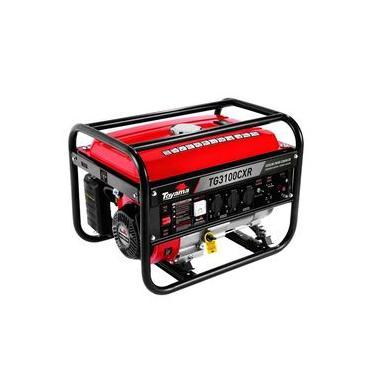 Gerador de Energia à Gasolina 3,1 Kva Bivolt Partida Manual TG3100CXR TOYAMA