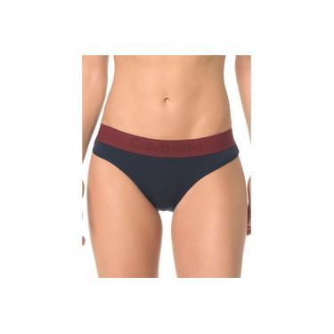 Calcinha Tanga Calvin Klein Underwear Cotton Black