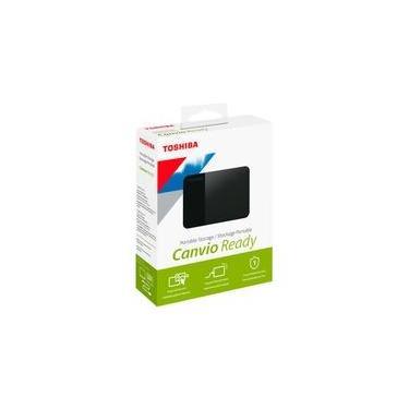 HD Externo Toshiba Portátil Canvio Ready, 1TB, USB 3.0 - HDTP310XK3AA