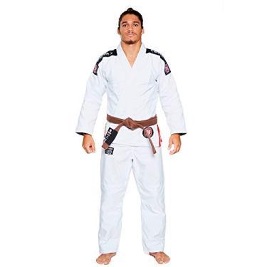 Kimono Jiu Jitsu Atama Trançado Ultra Light 2.0 - Branco-A4