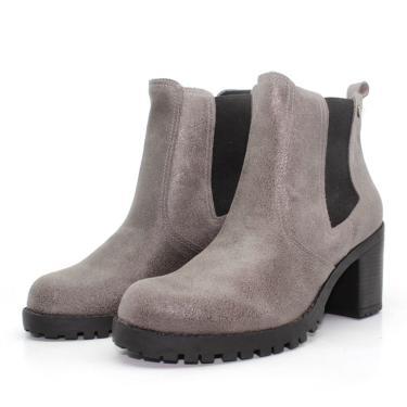 Bota Barth Shoes Bury Resina - Grafite  feminino