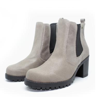 Bota Barth Shoes Bury Resina - Cinza  feminino