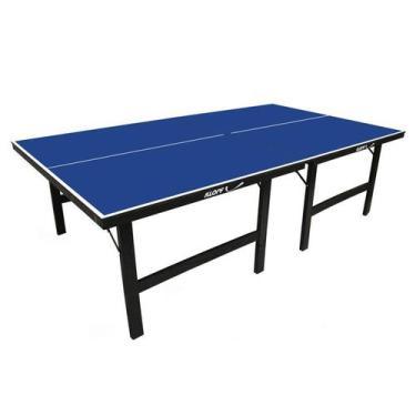 Mesa de Tênis de Mesa ou Ping Pong Klopf 1001 sem rede (Ambientes Internos) - * MESA DE TDM 1001 KLOPF, .