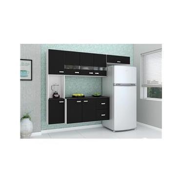 75abf844a27ec Casas Bahia Ir à loja · Cozinha Compacta Julia Composta Por 4 Peças Com 2  Gavetas 8 Portas Em Mdp Poquema-