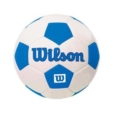 Bola de Futebol Traditional Mini Azul  1 - Wilson 9abde9861ee7a