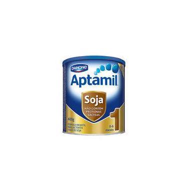 Imagem de Aptamil Soja 1 400g Danone - Fórmula Infantil À Base De Proteína Isolada De Soja Com Ferro