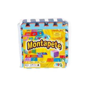Imagem de Tapete Números Em Eva Para Criança 10 Peças 33x33 - Nig Brinquedos