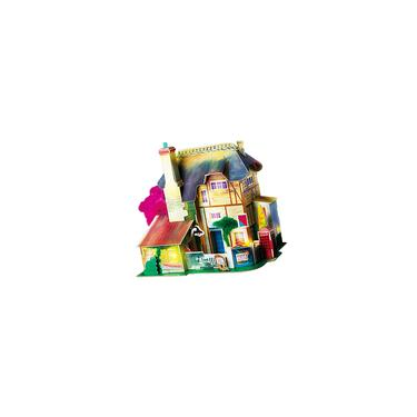 3d Miniaturas Casa De Bonecas De Madeira Diy Casa Kit Artesanal Mini Villa Modelo Brinquedos