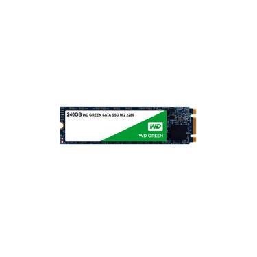 SSD WD Green, 240GB, M.2, Leitura 545MB/s - WDS240G2G0B