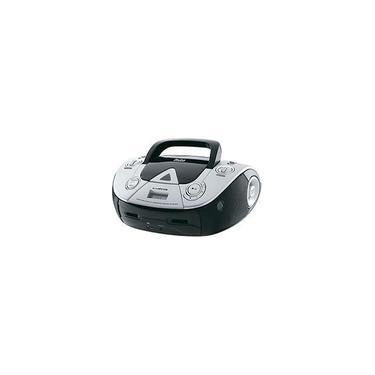 Imagem de Som Portátil Philco PB126 USB 4W com CD Player MP3 Rádio FM Entrada e Auxiliar de Áudio