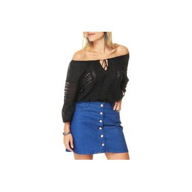 Bata Cropped Facinelli Ciganinha