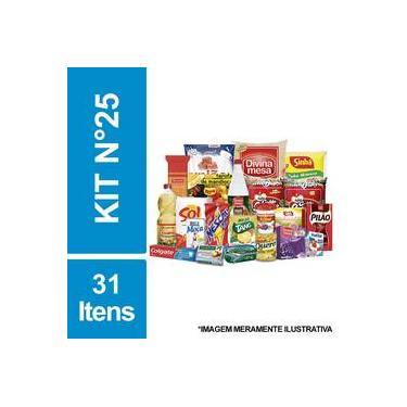 Cesta Básica De Alimentos E Higiene C/ 31 Itens