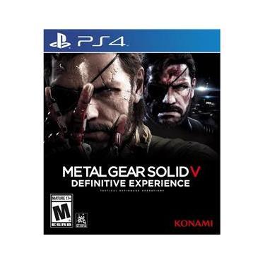 Metal Gear Solid V: The Experience Definitive Edição Jogo para PlayStation 4-20335