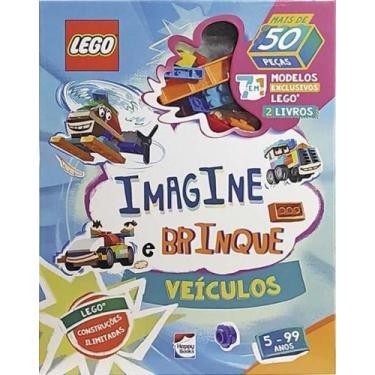 Imagem de Lego Iconic. Imagine E Brinque - Veiculos - Happy Books