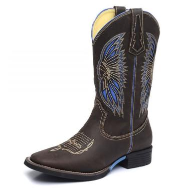 Bota Top Franca Shoes Country Chocolate  masculino