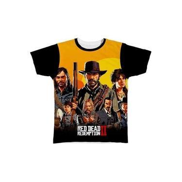 Camiseta Camisa Red Dead Redemption 2 Jogo Game 07