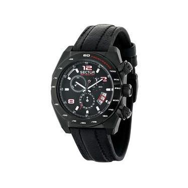 f49930a7f58 Relógio Masculino Analógico Sector WS32132P - Preto