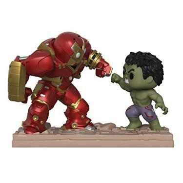 Marvel Os Vingadores Boneco Pop Funko Hulkbuster Vs Hulk #394