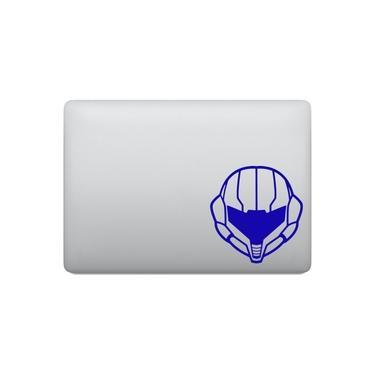 Adesivo Tablet Notebook Pc Metroid Capacete Samus