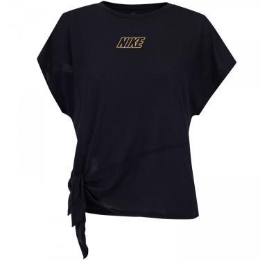 Camiseta Nike Dry SS Top Tie - Feminina Nike Feminino