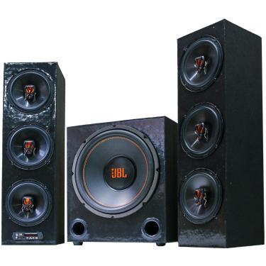 Home Theater Jbl Torre Taramps Bluetooth 2.1 Usb Sd Fm Aux