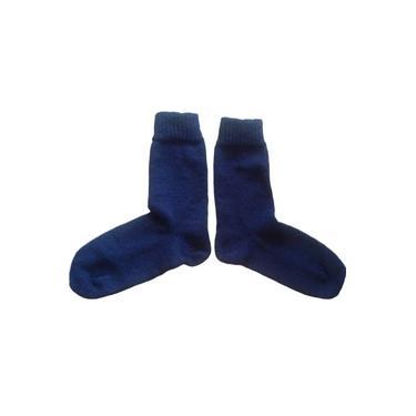 Meias de Lã Adulto (azul marinho)
