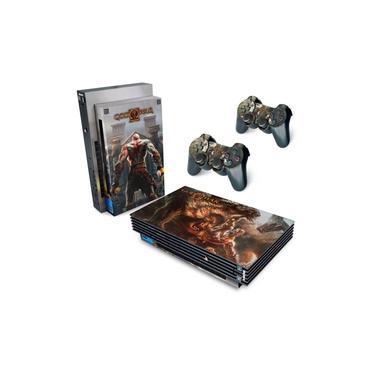 Skin Adesivo para PS2 Fat - God Of War 2 II