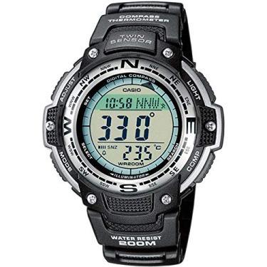 4bd9b1cbabb Relógio Masculino Digital Casio SGW-100-1VDF - Preto