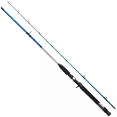Vara Pesca Carretilha Shimano Cruzar 2562B 1,68M 8-16 Lbs  2 Partes Azul