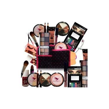 Kit Maquiagem Lip Tint Completo Bella Femme Promoção - Pele Clara