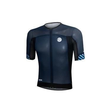 Camisa Ciclismo Mauro Ribeiro Premium Marinho Masc