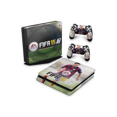 Skin Adesivo para PS4 Slim - Fifa 15
